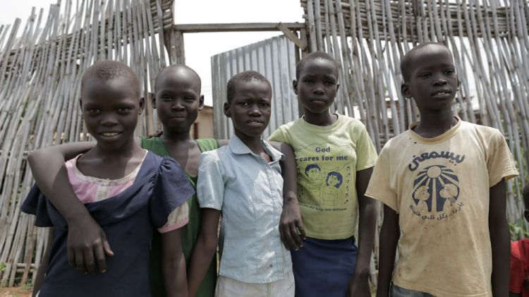 South Sudan: Children inspire hope in the country of South Sudan.  Photo by Jacob Carter More Info