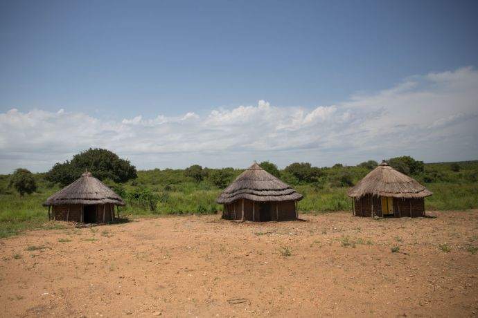 South Sudan: Traditional style homes are still constructed in South Sudan.  Photo by Jacob Carter More Info