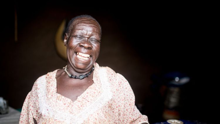 South Sudan: Laughter is good for the soul.  Photo by Justin Lovett More Info