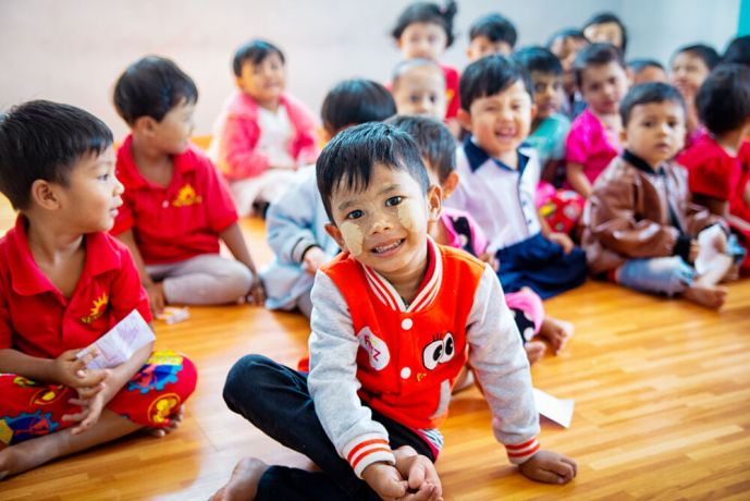 South East Asia: Company run kindergartens provide a relatively high level of education for kids in the surrounding area. More Info