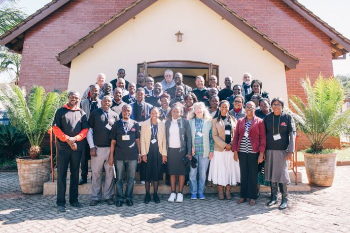 Zimbabwe: Go Challenge Conference participants pose for a group photo More Info