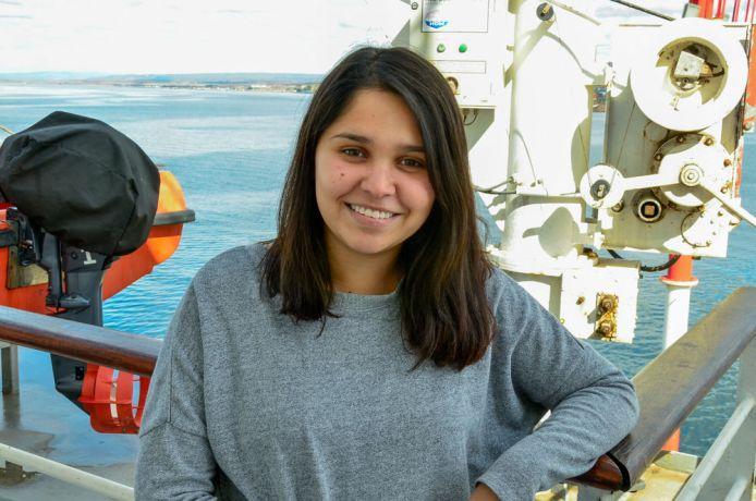 Chile: Punta Arenas, Chile :: Crewmember Vale Pereira (Chile). More Info