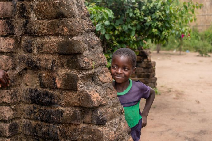 Malawi: Kids in a village in Malawi. Photo by Rebecca Rempel More Info