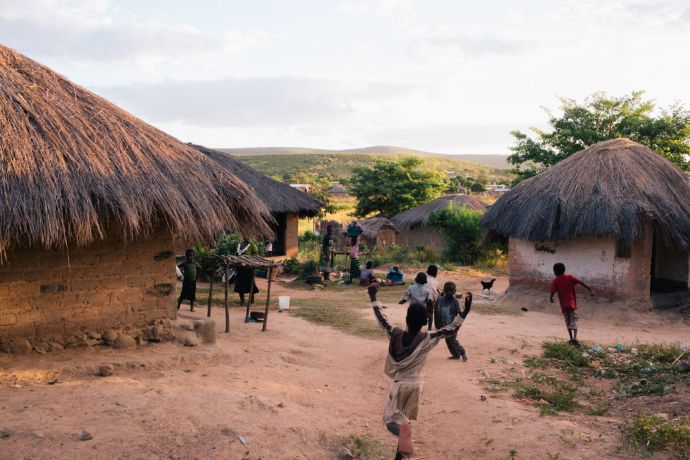 Zambia: Local village scene in Mpulungu, Zambia. Photo by Doseong Park More Info
