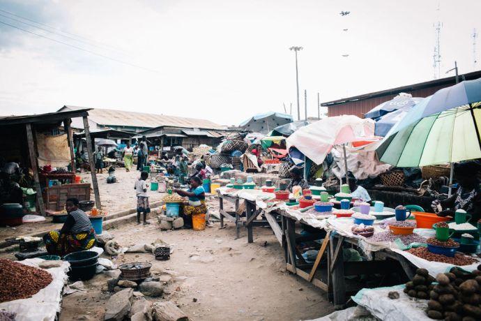 Zambia: Local market in Mpulungu, Zambia. Photo by Doseong Park More Info
