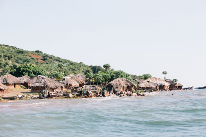 Zambia: Next to shore Kapembwa village. Photo by Doseong Park More Info