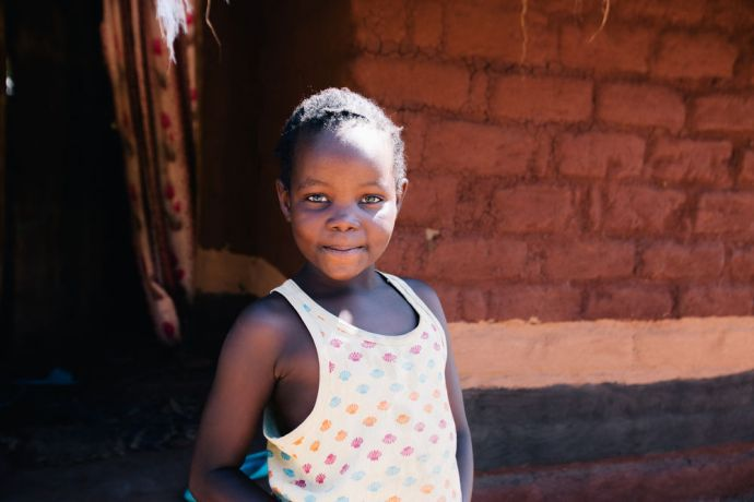 Zambia: A local child. Kapembwa, Zambia. Photo by Doseong Park More Info