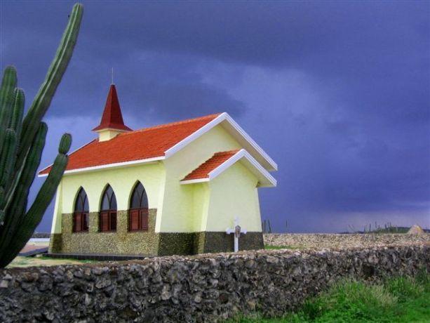 Aruba: A church in Aruba, Netherlands Antilles More Info