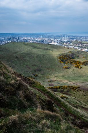 United Kingdom: Arthurs seat, Edinburgh Scotland.  Photo by Garrett N More Info