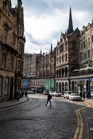 United Kingdom: Street images from Edinburgh, Scotland.  Photo by Garrett N More Info
