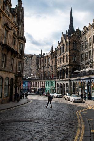 United Kingdom: Street images from Edinburgh, Scotland.  Photo by Garrett N More Info