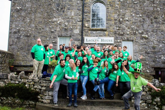 Ireland: In 2019, OM Ireland hosted its largest St. Patricks outreach ever! More Info