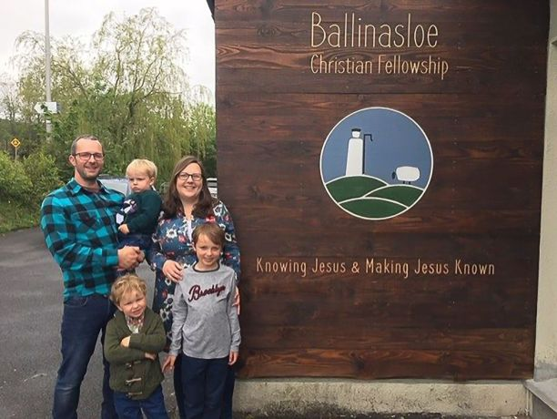 Ireland: The Bailie family serves with their local church as part of OM Irelands Philippian Project (church partnership ministry). More Info