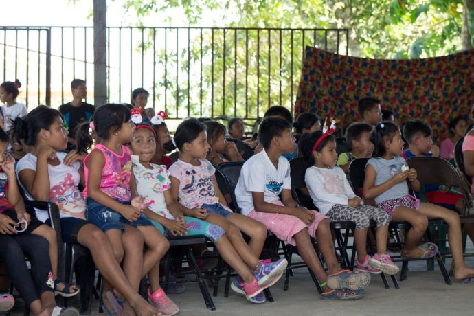 Panama: A photo from the Christmas Outreach Childrens Program. More Info