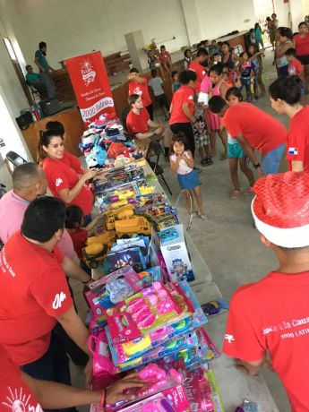 Panama: OM Panama had a Christmas outreach giving away toys and some snacks. More Info