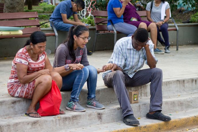 Panama: The OM Panama team prepare an artistic outreach sharing the gospel within a community in social risk More Info