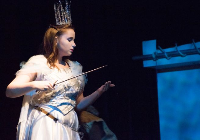 Argentina: Mar del Plata, Argentina :: Isabelle Otto (Austria) performes during a Narnia show. More Info