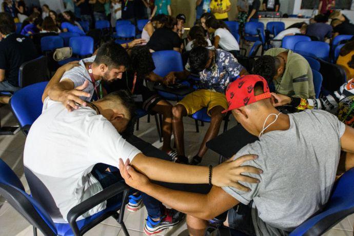Montenegro: Prayer and worship Teen Street Balkan - Photo by Garrett N More Info