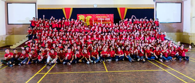 Malaysia: All the staff and participants together. More Info