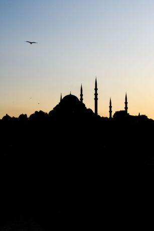 Turkey: Silhouette of a mosque in Turkey.  Photo by Garrett N More Info