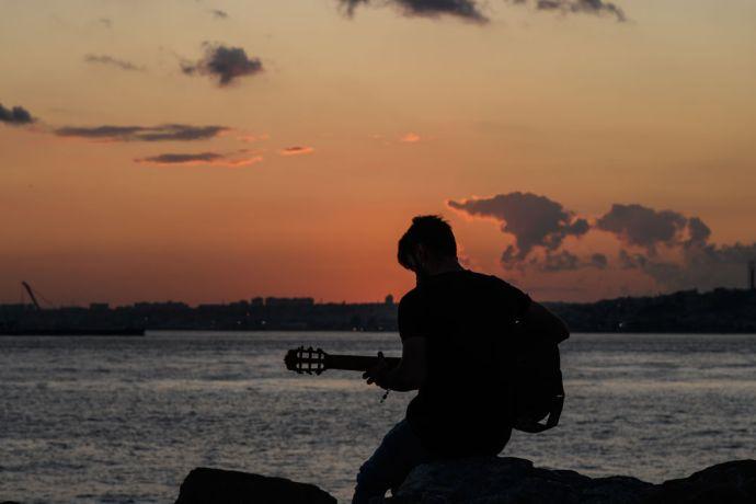 Turkey: Silhouette of young turks in Turkey.  Photo by Garrett N More Info