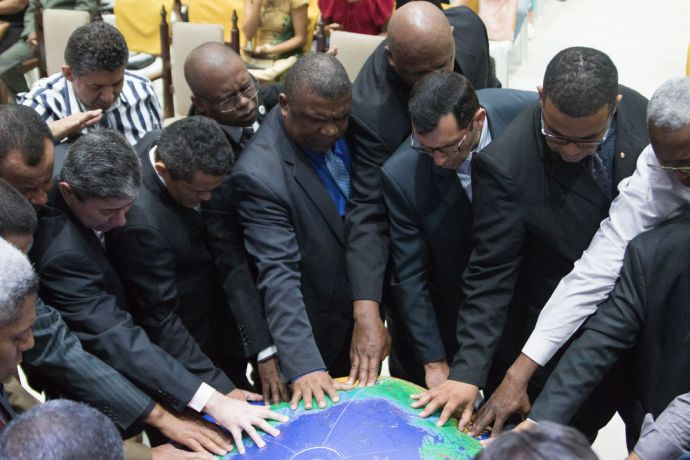 Brazil: Rio de Janeiro, Brazil :: Pastors gather to pray for least reached people groups. More Info