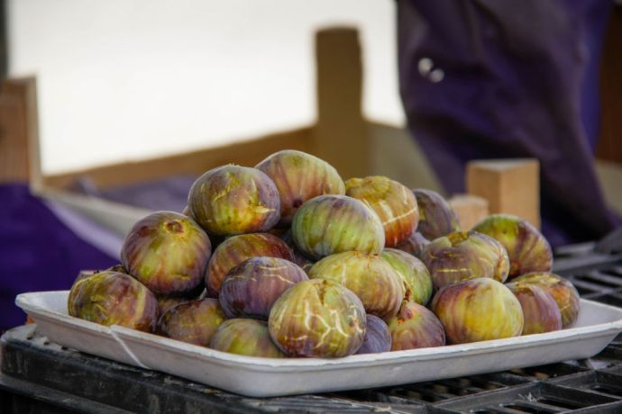 Near East: Figs are a very popular fruit sold by street vendors. Photo by Johanna Bird. More Info
