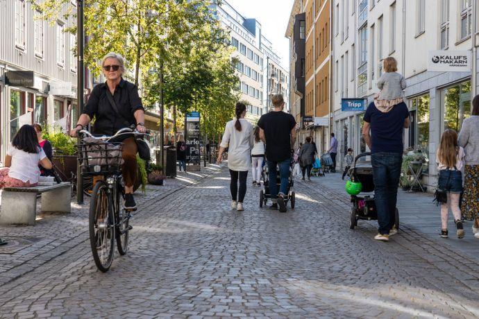 Sweden: Shopping street of Jönköping More Info