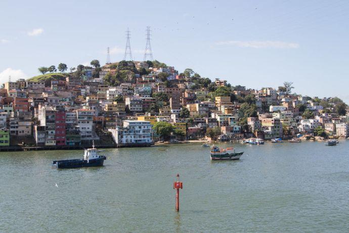 Brazil: Vitoria, Brazil :: The port area in Vitoria. More Info