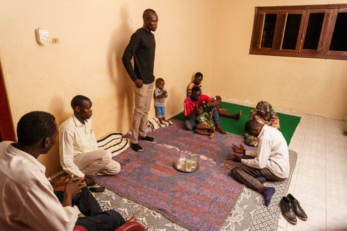 North Africa: Emad helps Amid lead and disciple sudanese students at MDT Egypt in addition to making regular house visits to people in need and non believers.  Photo by Garrett N More Info