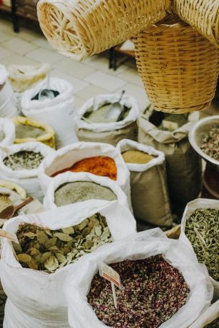 Israel: Markets provide insights into cultural values.  Photo by Sarah Beth Pritchard More Info