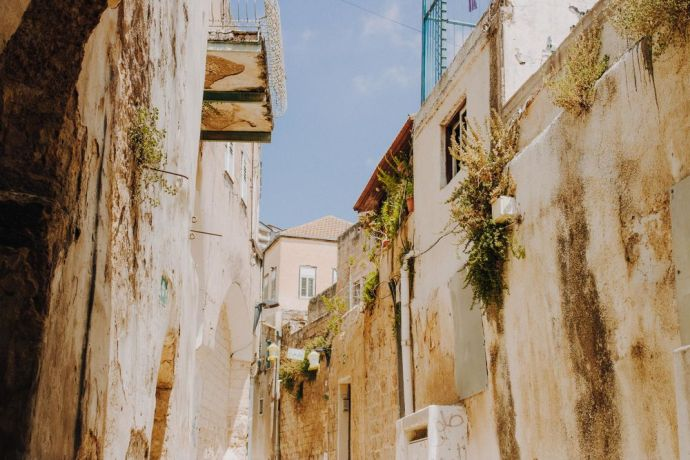 Israel: Beautiful homes of Nazareth tell stories beyond the walls.  Photo by Sarah Beth Pritchard More Info