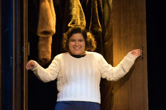 Brazil: Belém, Brazil :: Valeria Balderas (Mexico) plays Lucy in The Lion, the Witch and the Wardrobe theatre show. More Info