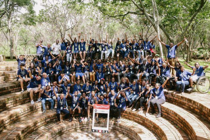 Zimbabwe: Teenstreet participants in Zimbabwe More Info