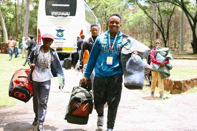 Zimbabwe: Teens arrive at Teenstreet in Zimbabwe More Info
