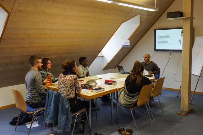 Germany: Students learn during a Mission Discipleship Training (MDT) session. Photo by Achim Schneider. More Info