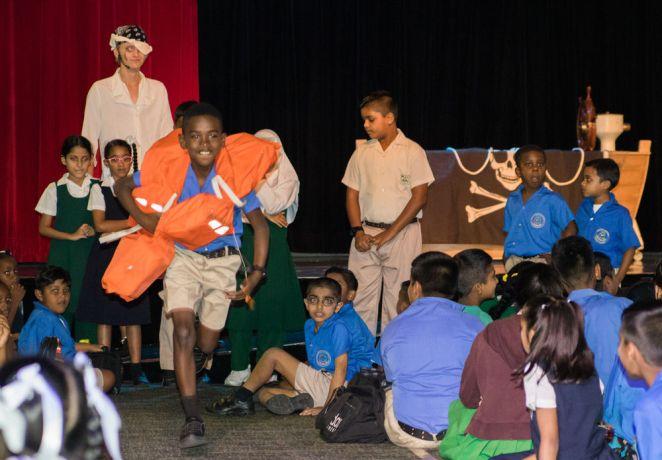 Trinidad & Tobago: Port of Spain, Trinidad and Tobago :: A boy enjoys a game at en event on board. More Info