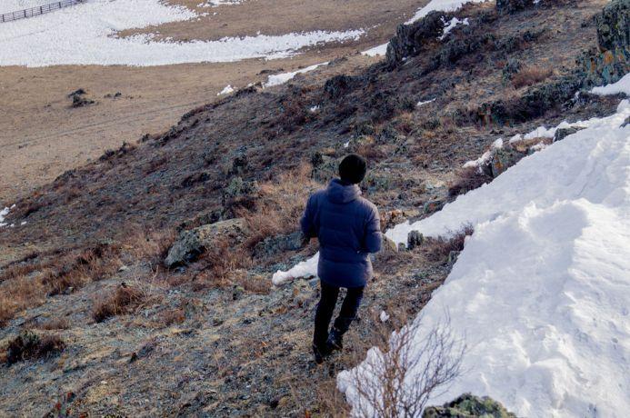Russia: Russian village in the winter. More Info