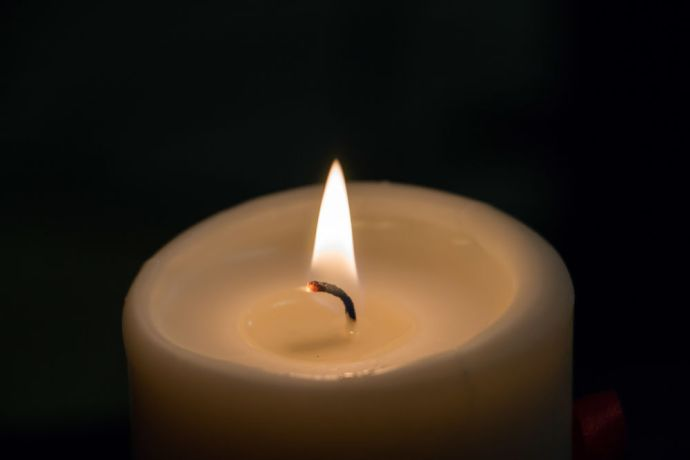 Russia: A burning candle. More Info