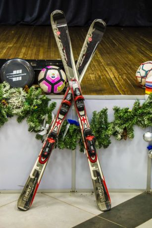 Russia: Hockey sticks and balls. More Info