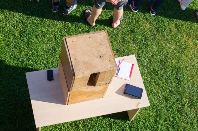 Russia: Wooden boxes, which were used for team-building. More Info
