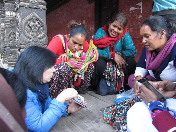 Russia: A Russian woman sharing the Gospel in South-East Asia. More Info