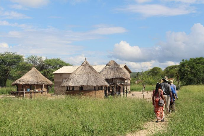 Zimbabwe: A modern Tonga homestead of a well-to-do family. More Info