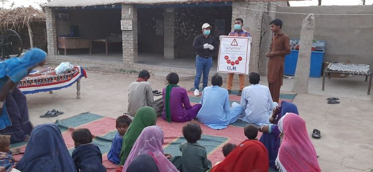 Pakistan: OM teams in Pakistan are hosting COVID-19 awareness programmes in under-served communities to help prevent the further spread of the virus. More Info
