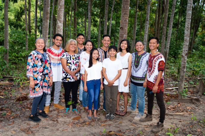 Philippines: Portrait of the whole Palawan team. Photo by Alex Coleman. More Info
