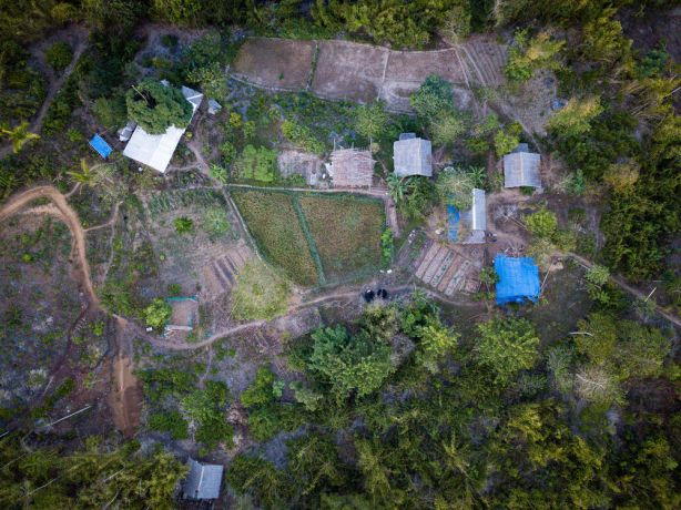Philippines: A top down view of the farm. Photo by Alex Coleman. More Info