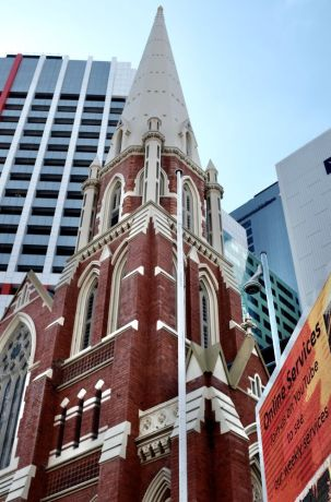 Australia: Closed Churches in Brisbane reflect COVID restrictions. Photo by Hadley Toweel More Info