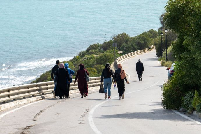 North Africa: People going about their everyday life in North Africa. Photo by Rebecca Rempel. More Info