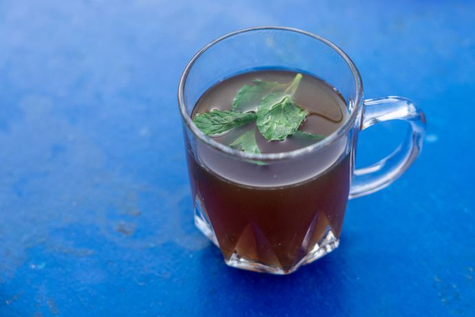 North Africa: Tea with mint leaves in North Africa. Photo by Rebecca Rempel. More Info