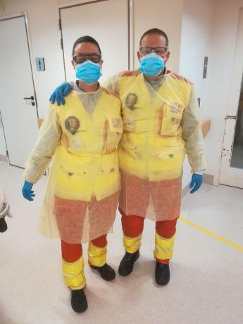 Belgium: OM couple serve as paramedics during the corona crisis. More Info